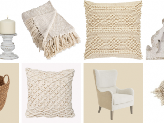 Neutral Cozy Decor From Amazon